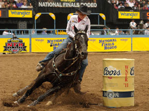 Jane Melby - 2011 NFR