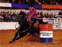 Jane Melby & RC Back N Black - NFR Qualifiers
